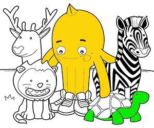 ζωγραφική Ζώα εικόνες