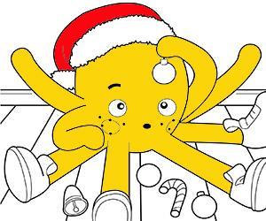 ζωγραφική Χριστούγεννα εικόνες