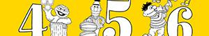 Ζωγραφική Sesame Street Αριθμοί ζωγραφιές