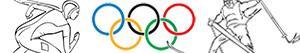 Ζωγραφική Χειμερινοί Ολυμπιακοί Αγώνες ζωγραφιές